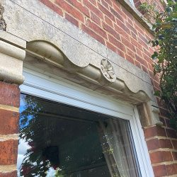 cotswold-stone-design-cheltenham-Before shot of old lintle
